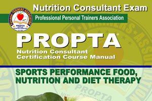 Nutrition Consultant Exam