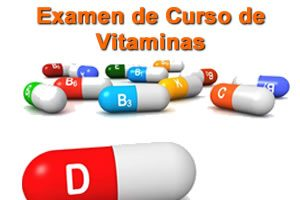 Examen do Curso de Vitaminas