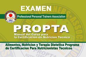 Examen Nutriticion Tecnico (Espanol)