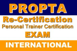 Personal Trainer Re-Certification Exam (International)