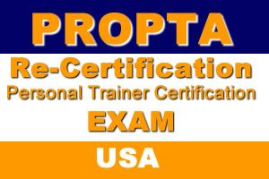 Personal Trainer Re-Certification Exam (USA)