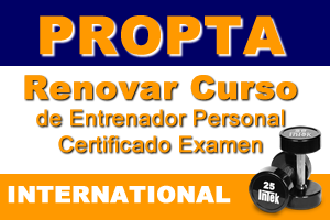 Renovar Curso De Entrenador Personal Certificado Examen (International)