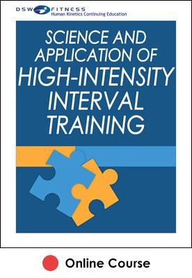 Science and Application of High-Intensity Interval Training Ebook With CE Exam