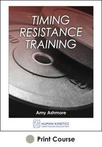 Timing Resistance Training With CE Exam