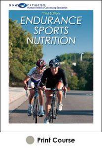 Endurance Sports Nutrition Print CE Course 3rd Edition