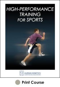 High Performance Training for Sports Print CE Course