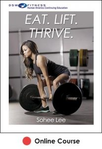 Eat. Lift. Thrive. eBook With CE Exam