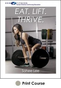 Eat. Lift. Thrive. With CE Exam
